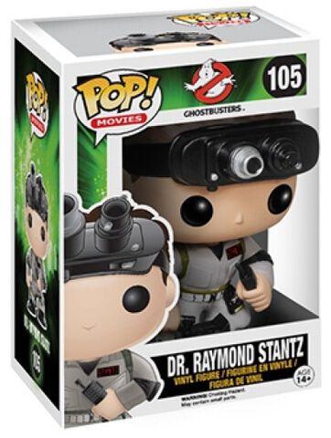 Figurine Funko Pop! N°105 - Sos Fantomes - Dr. Raymond Stantz
