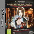 Cate West, Les Affaires Non Classées