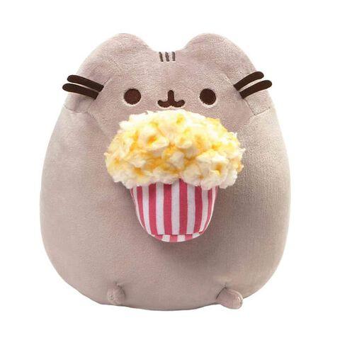 Peluche - Pusheen avec Popcorn