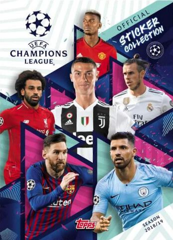Album pour Stickers - UEFA Champions League 2018 - 2019