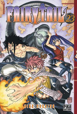 Manga - Fairy Tail - Tome 23