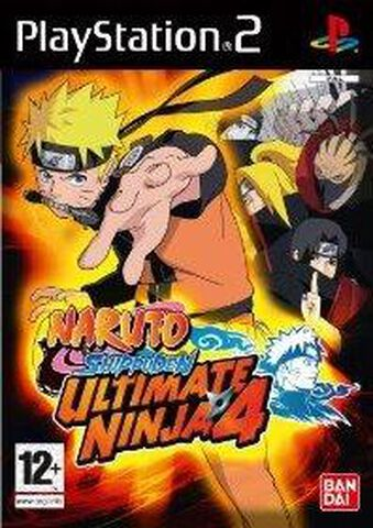 Naruto Ultimate Ninja 4 : Shippuden