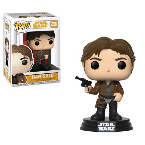 Figurine Funko Pop! N°238 - Star Wars Solo - Serie 1 Han Solo
