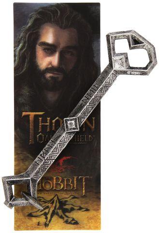Stylo et marque-page - Le Hobbit - Clé de Thorin