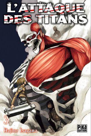 Manga - L'Attaque des Titans - Tome 03