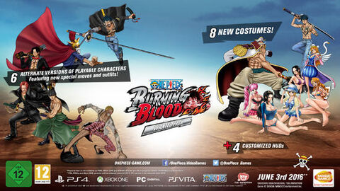 DLC - One Piece Burning Blood - Wanted Pack - PS4 / PS Vita