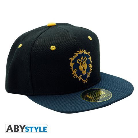 Casquette - World Of Warcraft - Alliance - Bleu