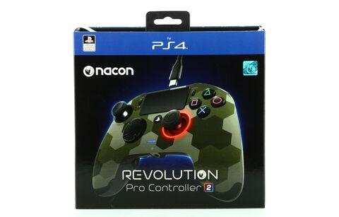 Manette Officielle Nacon Revolution 2 camo vert - Exclusivité Micromania-Zing