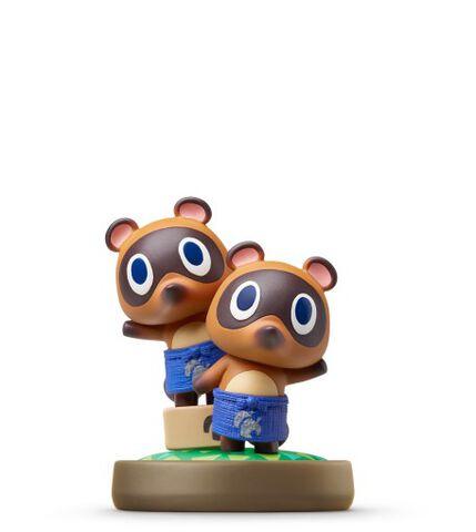 Figurine Amiibo Animal Crossing Méli & Mélo