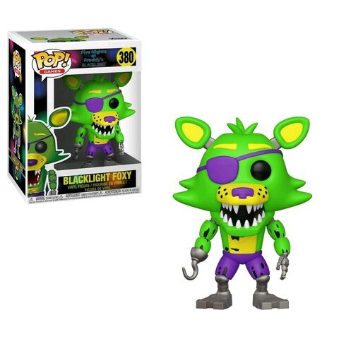 Figurine Funko Pop! N°380 - Five Nights at Freddy's - Blacklight Foxy
