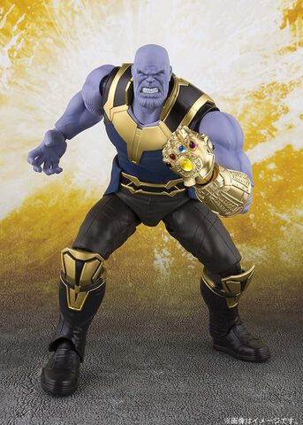 Figurine S.H. Figuarts - Avengers : Infinity War - Thanos 19 cm