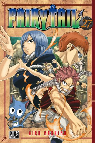 Manga - Fairy Tail - Tome 27