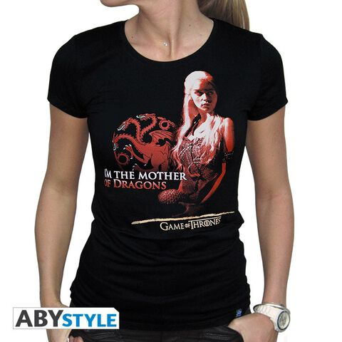 T-shirt - Game of Thrones - Mother of Dragons Femme - Taille S