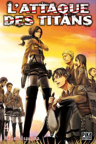 Manga - L'Attaque des Titans - Tome 04