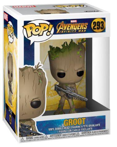 Figurine Funko Pop! N°293 - Avengers Infinity War - Groot