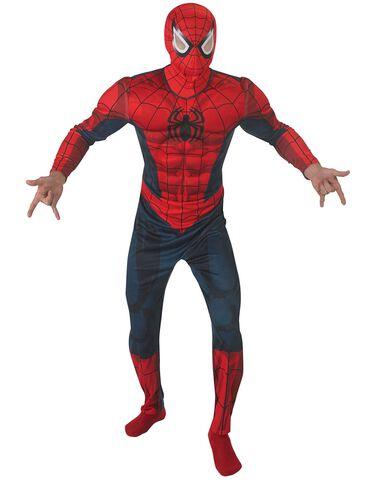 Déguisement - Spider-Man - Combinaison Adulte Deluxe