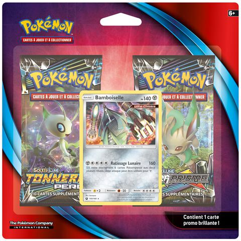 Booster - Pokémon - Pack 2 boosters Janvier 2019