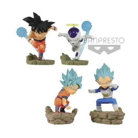 Figurine World Collectable Diorama - Dragonball Super -  Assortiment Vol.3