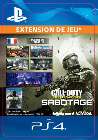 DLC 1 - Call of Duty : Infinite Warfare - Sabotage - PS4