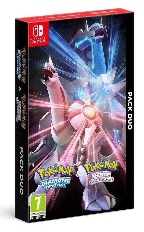 Pack Pokemon Diamant Etincelant + Perle Scintillante