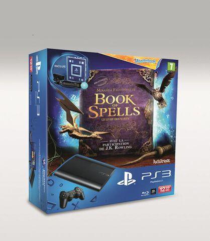 Pack Ps3 Noire 12 Go + Book Of Spells + Wonderbook + Pack Découverte