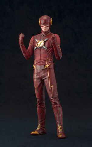 Statuette Artfx Kotobukiya - The Flash - The Flash Exclusive 1/10