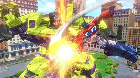 * Transformers Devastation