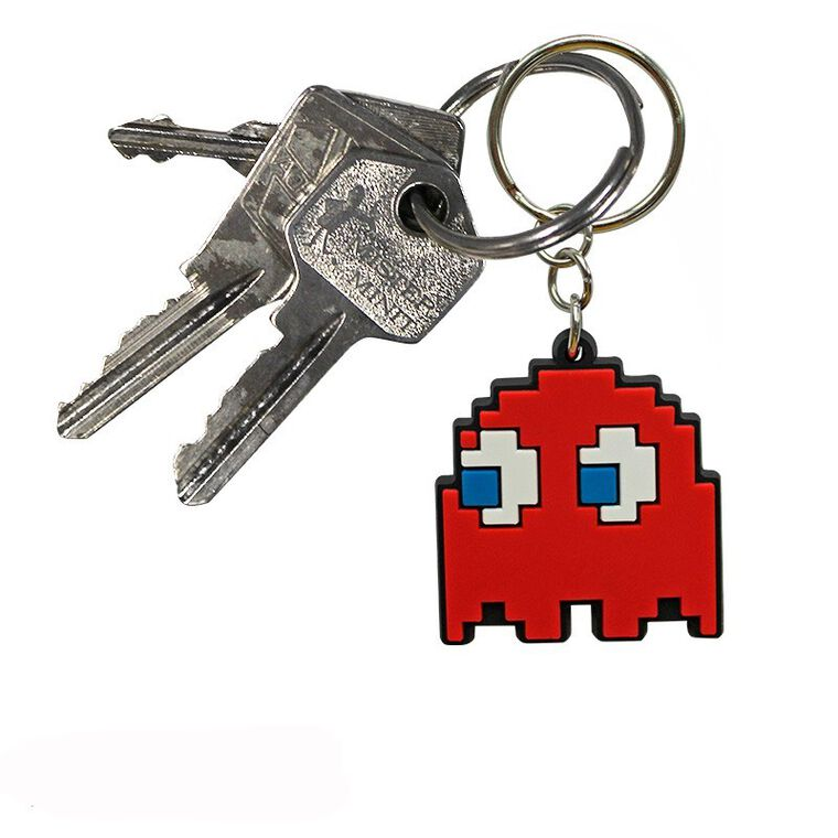 Porte-clés - Pac-Man - Fantôme en PVC