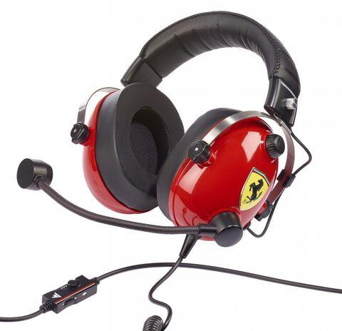 Casque Gaming Thrustmaster T.Racing Scuderia Ferrari Edition