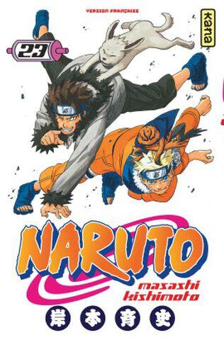 Manga - Naruto - Tome 23