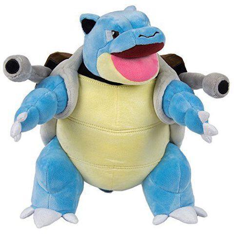 Peluche - Pokémon - Tortank 30 cm