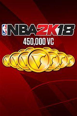 Dlc NBA 2k18 450 000 Vc Xbox One