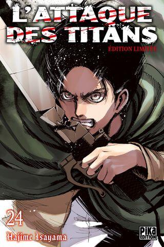 Manga - L'Attaque des Titans - Tome 24 Edition Limitée