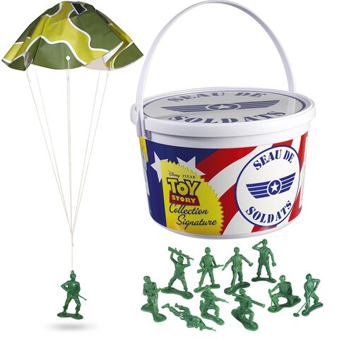 Seau - Toy Story - 72 soldats