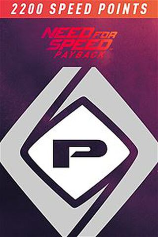 Need For Speed Payback-2200 Speed Points-xbox One