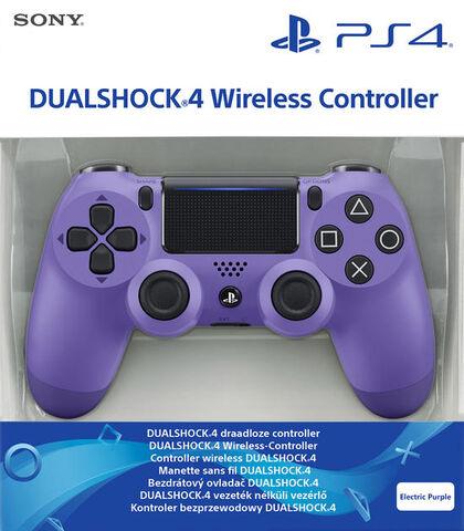Dual Shock 4 Electric Purple