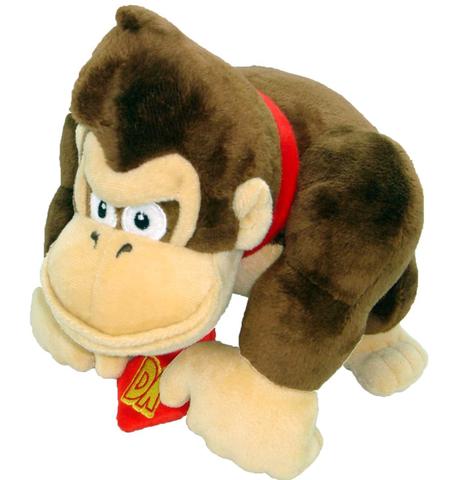 Peluche - Donkey Kong - Donkey 23 cm
