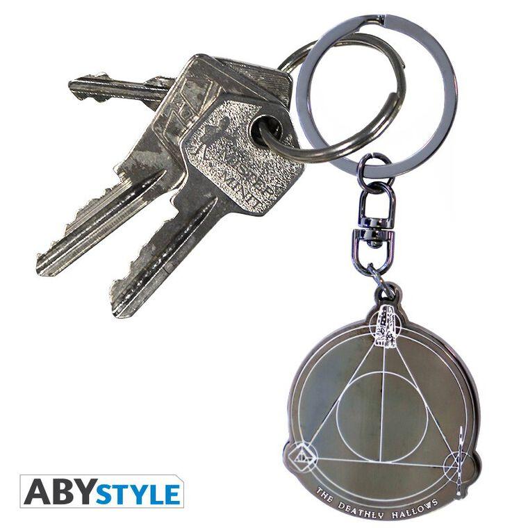 Porte-clés - Harry Potter - Reliques de la Mort - En métal
