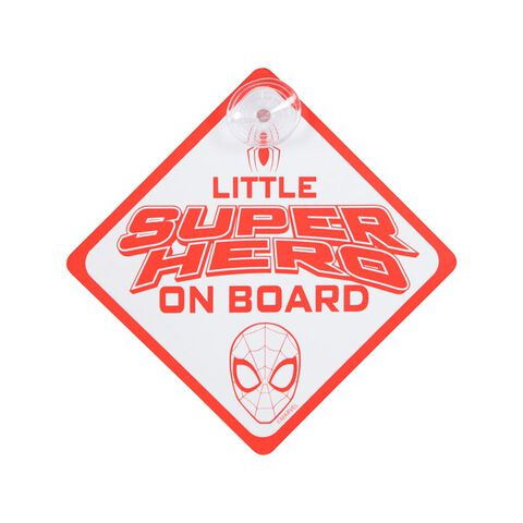 Bébé à bord - Spider-Man - Little Super Hero on Board