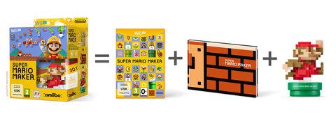 Super Mario Maker + Amiibo Super Mario Bros