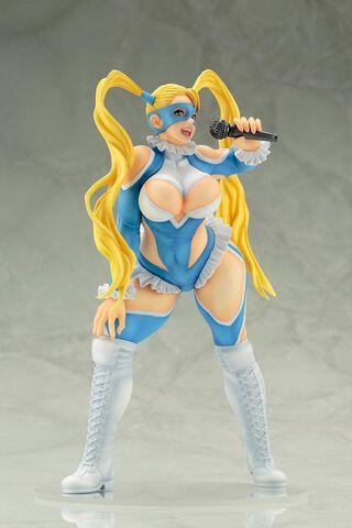 Statuette Kotobukiya - Street Fighter - Rainbow Mika 20 cm Bishoujo