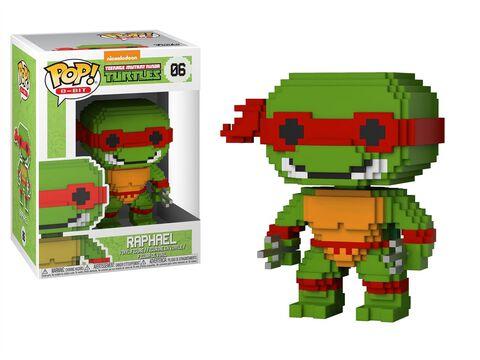 Figurine Funko Pop! N°06 - Tortues Ninja - Raphael 8 Bits