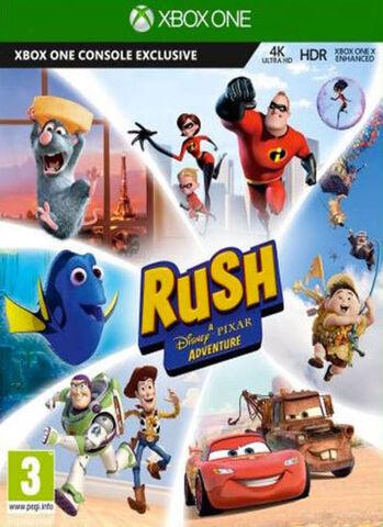 Rush A Disney Pixer Adventure
