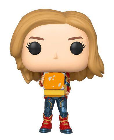 Figurine Funko Pop! N°444 - Captain Marvel  - Captain Marvel avec lunch box