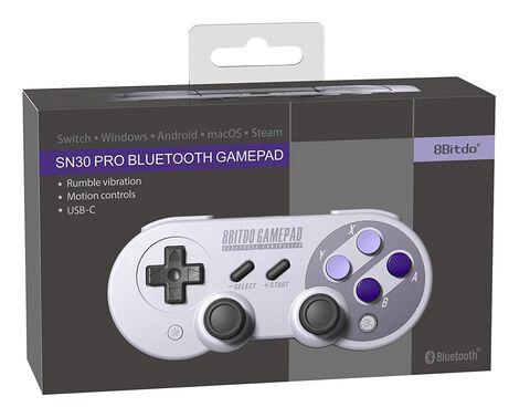 Manette Retro 8bitDo Gamepad Snes30 Pro Bluetooth
