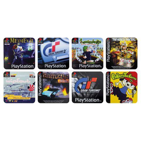 Dessous de verre - PlayStation - Set de 4