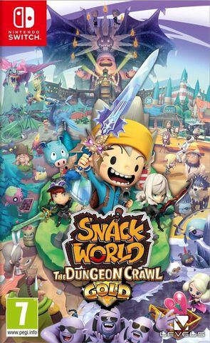 Snack World Mordus De Donjons Gold