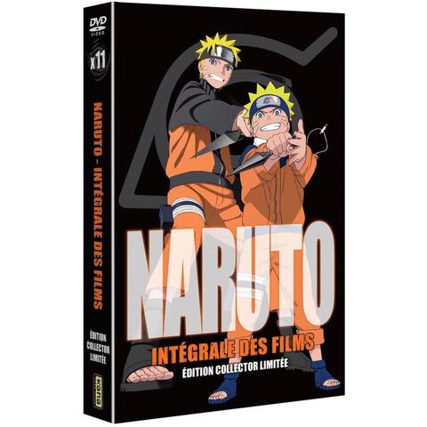 Naruto Les Films Intégrale Edition Collector