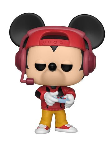 Figurine Funko Pop! N°471 - Mickey Mouse - Mickey Gamer - Exclusivité Micromania-Zing