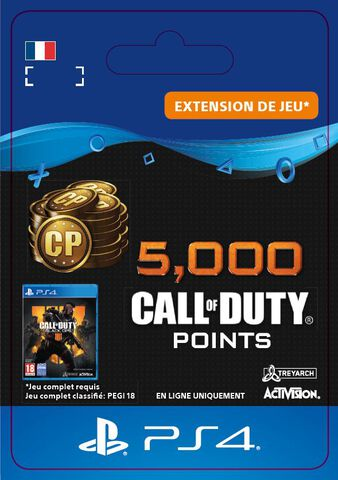 Call of Duty Black Ops IIII - DLC - 5 000 Points - Version digitale
